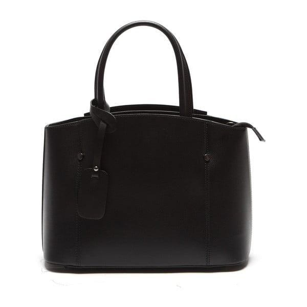 Čierna kožená kabelka Sofia Cardoni Irene