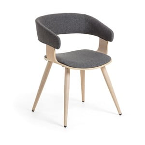 Sivá stolička La Forma Heiman
