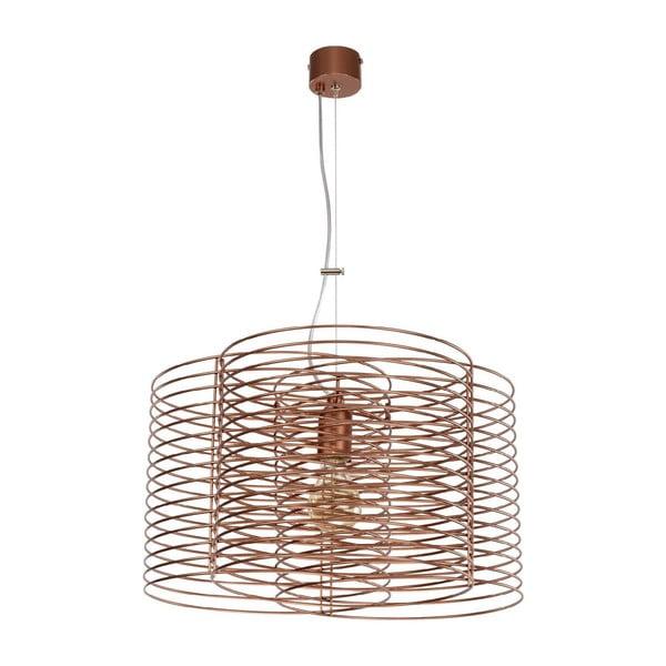 Hnedé stropné svietidlo Ringo Copper