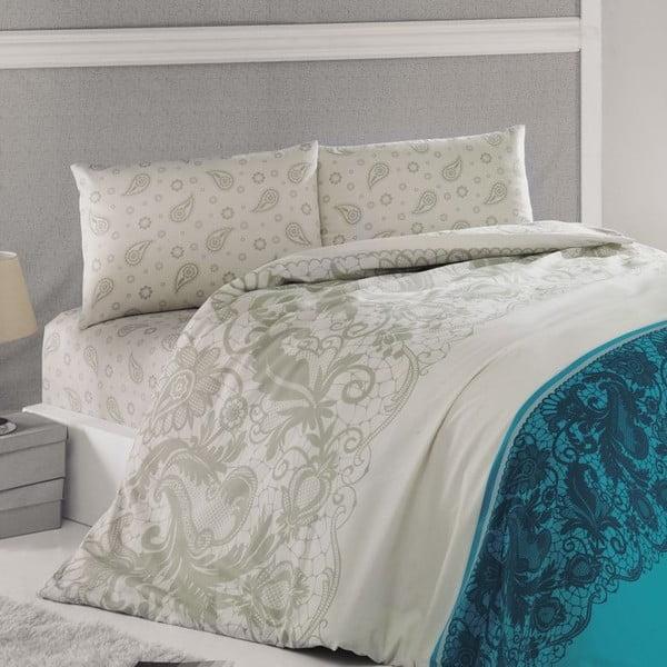 Obliečky Luxury Time Blue, 240x220 cm