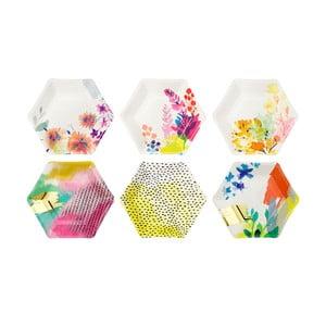 Sada 6 papierových tanierov Talking Tables Fantastic Summer