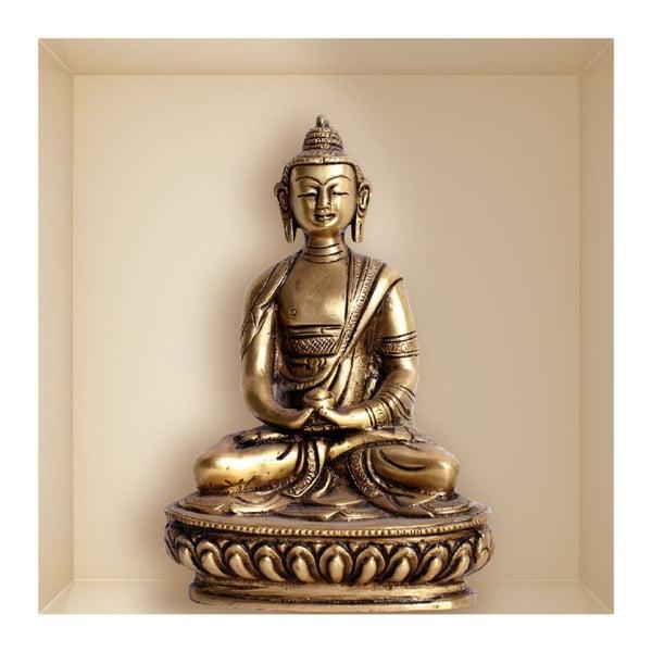 Samolepka s 3D efektom Fanastick Buddha Statue