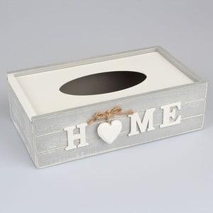 Box na vreckovky Country Home Light Grey