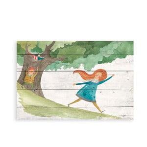 Obraz na dreve Little Nice Things Kite, 60 x 40 cm