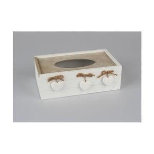 Drevený úložný box na vreckovky Dakls Rusto Mezzo