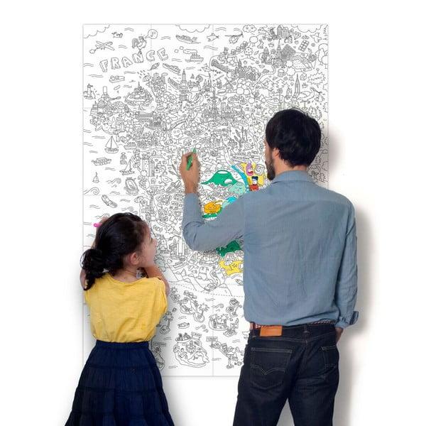 Maľovanka OMY France (70 x 100 cm)