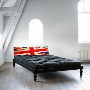 Posteľ Karup Rock-o UK Black / Union Jack