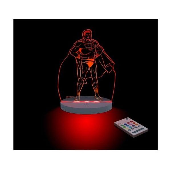 Detské LED nočné svetielko Superman