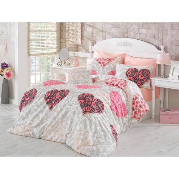 Obliečky Love Pink, 200x220 cm