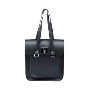 Kožená kabelka Rosemont Black/Royal Blue XL