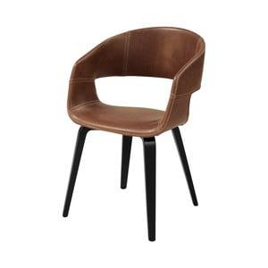 Hnedá jedálenská stolička Interstil Nova