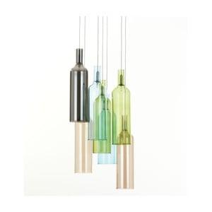 Stropné závesné svietidlo Tomasucci Bottles