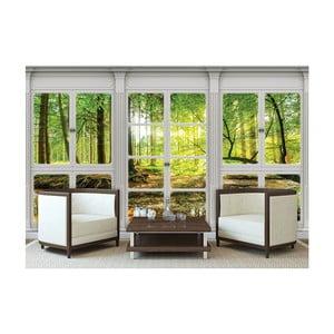 Veľkoformátová nástenná tapeta Vavex Windows View, 416×254 cm