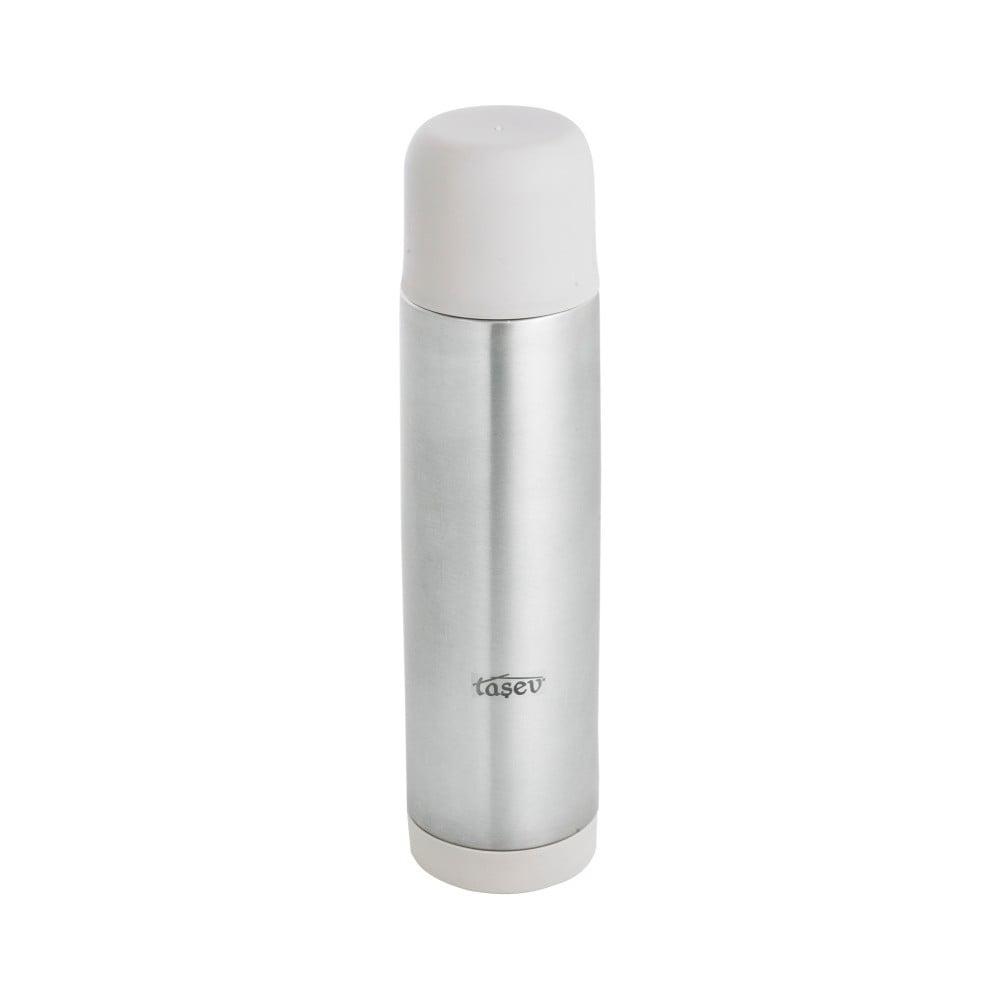 Sivá antikoro termofľaša Taşev Telas, objem 500 ml
