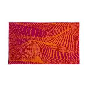 Kúpeľňová predložka Kolor My World XIII 60x100 cm, pomarančová