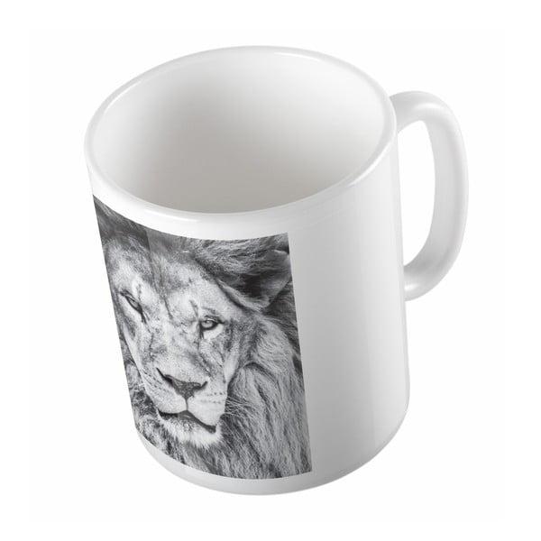 Keramický hrnček Animal King, 330 ml