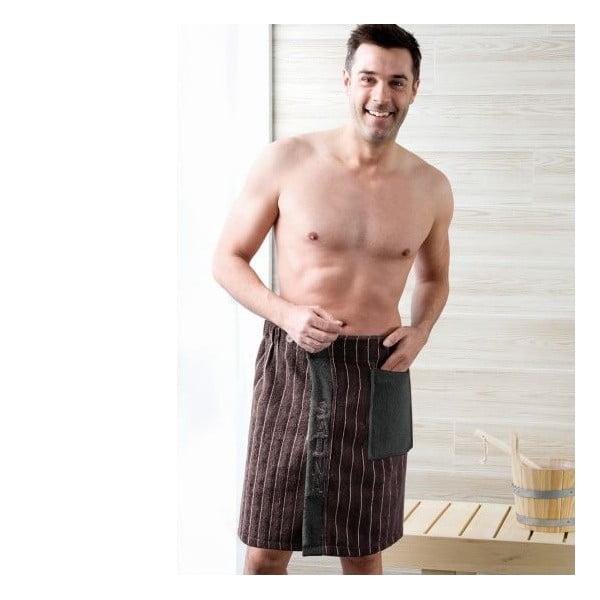 Pánsky sarong Brown, 50x136 cm