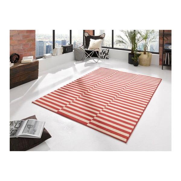 Červený koberec Hanse Home Gloria Panel, 160 x 230 cm