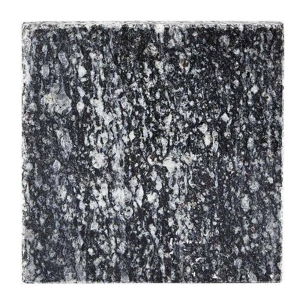 Čierna žulová podložka pod pohár Galzone