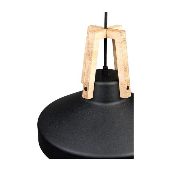 Čierne stropné svetlo Loft You Work, 44 cm
