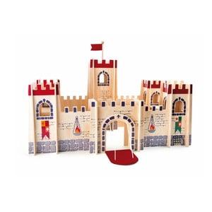 Drevený hrad na hranie Legler Knight