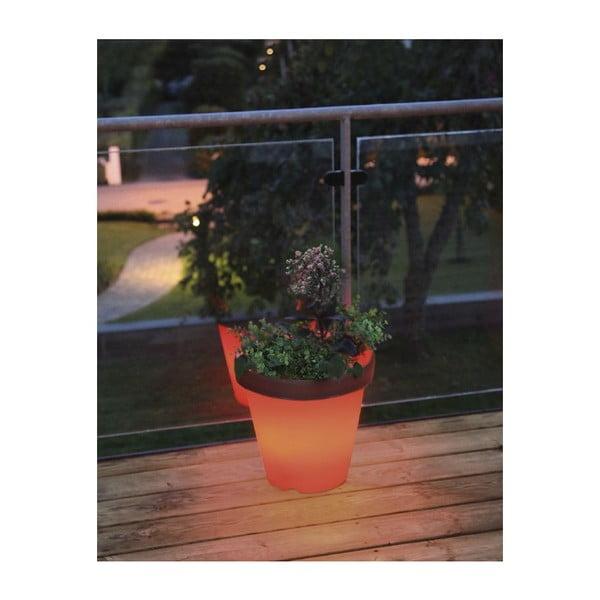Svietiaci záhradný kvetináč System
