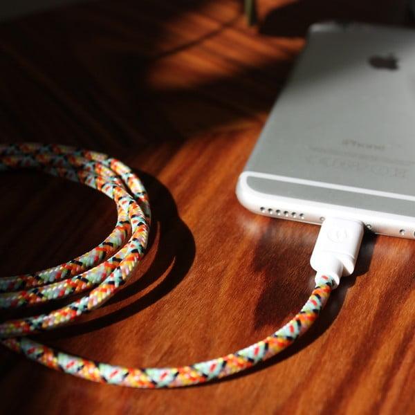 Nabíjací kábel Lightning pre iPhone 5 a iPhone 6 Fantasy, 1,5 m