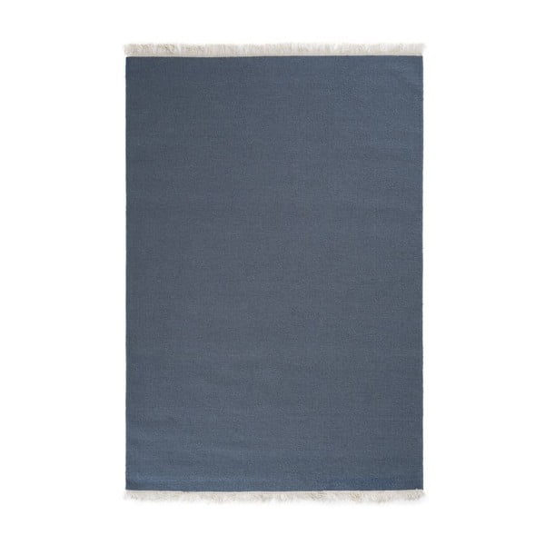 Vlnený koberec Rainbow Indigo, 200x300 cm