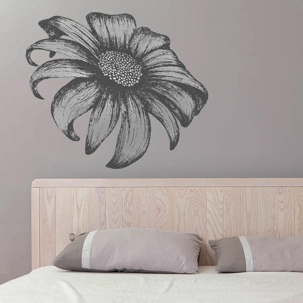 Dekoratívna samolepka na stenu Kreslená slnečnica