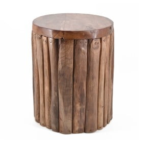 Stolička z teakového dreva Moycor Flamingo