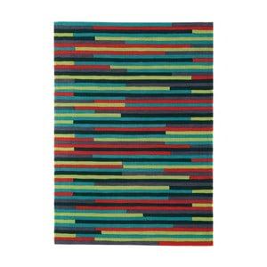 Zelený koberec Asiatic Carpets Harlequin Linia, 170 x 120 cm