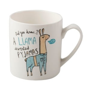 Pocelánový hrnček Creative Tops Llama Pyjamas