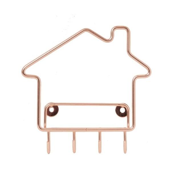 Vešiak na kľúče Key Home Copper
