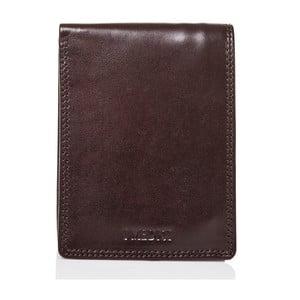 Tmavohnedá pánska peňaženka z teľacej kože Medici of Florence Clement