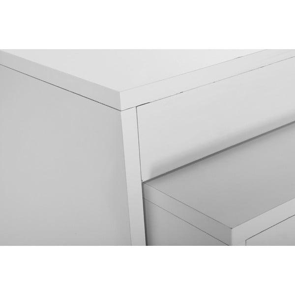 Konferenčný stolík so 2 stoličkami Sebboy White
