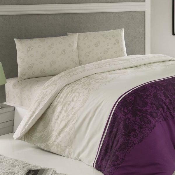 Obliečky Luxury Time Purple, 240x220 cm