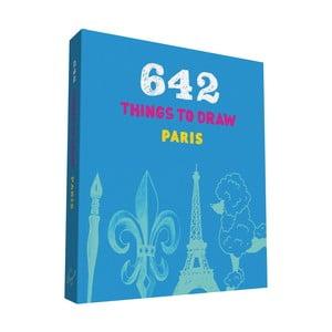 Kniha kreslenia Chronicle Books Paris do vrecka