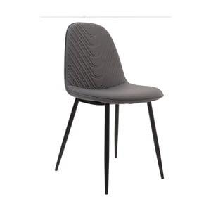 Sivá stolička InArt Elegant