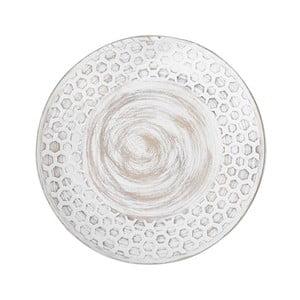 Béžový tanier Brandani Hexagon