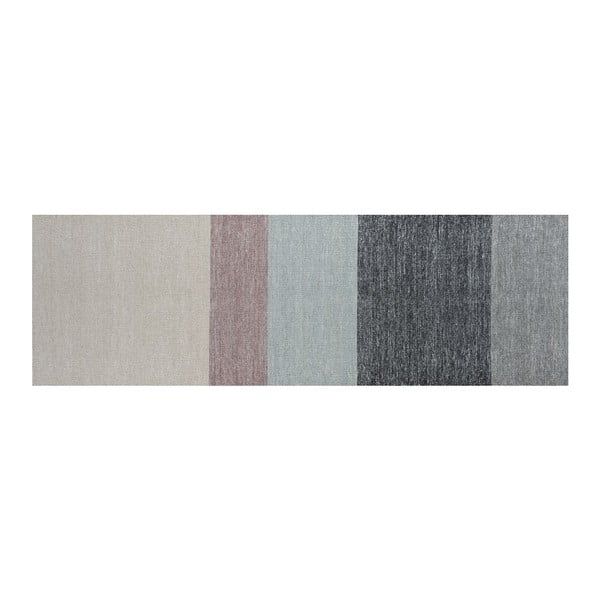 Vlnený koberec Poraka Heather, 80x250 cm