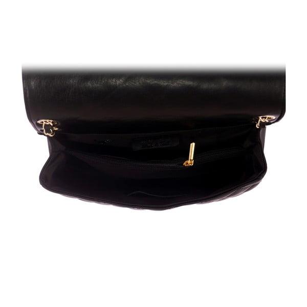 Kožená kabelka Andrea Cardone 2024 Black