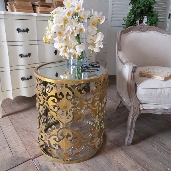 Odkladací stolík Gold Coffee