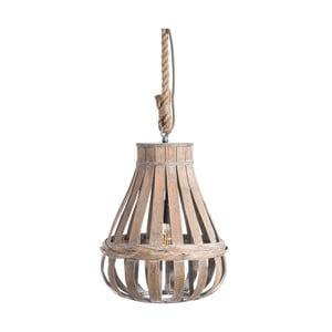 Stropné svietidlo z bambusu Tropicho, ⌀35cm