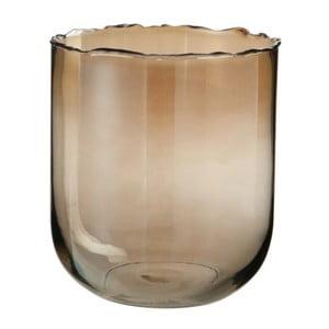 Sklenená váza J-Line Rough Edge