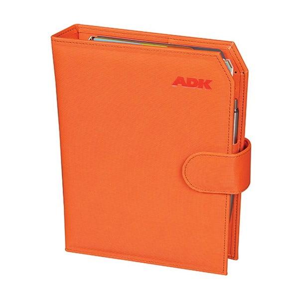 Diár na rok 2016 ADK Praktik, oranžový, veľ. A5