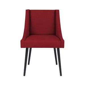 Červená stolička Micadoni Home Massimo