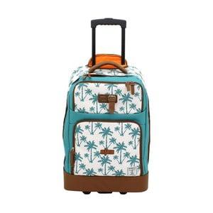 Modrá taška na kolieskach Friedrich Lederwaren Palm