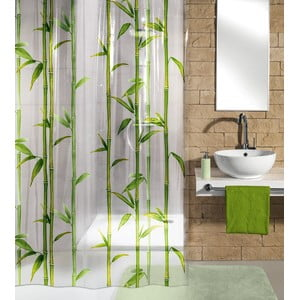 Sprchový záves Bamboo Green, 180x200 cm