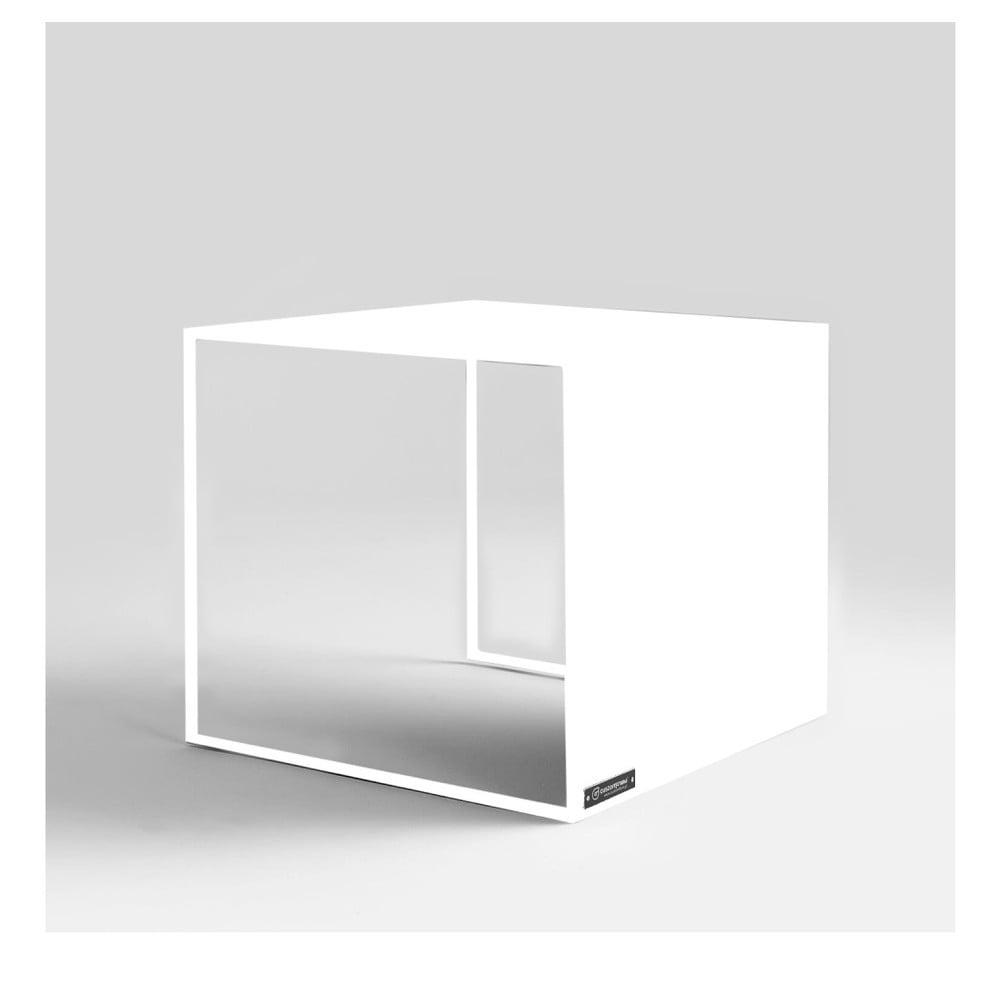 Biely odkladací stolík Custom Form 2Wall