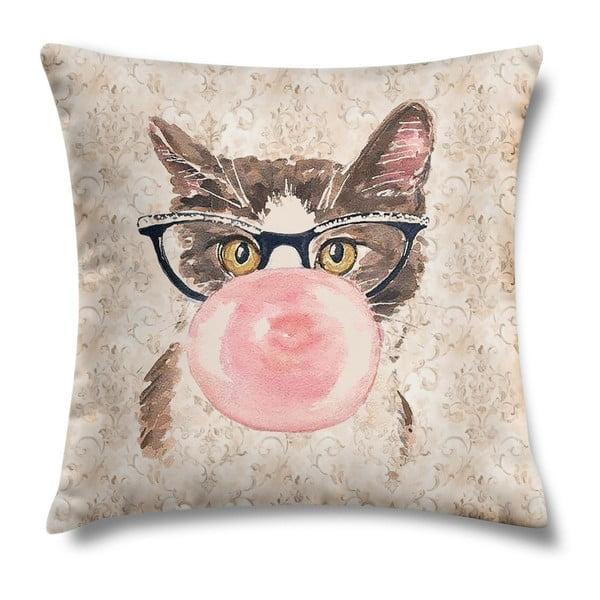 Vankúš Bubblegum Kitty, 43x43 cm